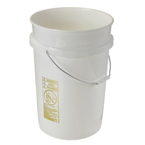 6 Gallon Plastic Pail- Lid Sold Separately