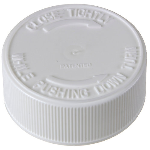 Child Resistant Screw Caps