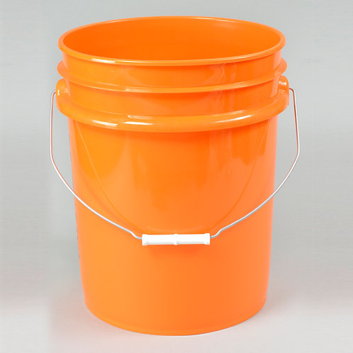 Clearance- 5 Gallon Plastic Pails