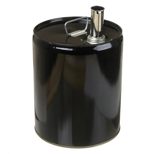 5 Gallon Tight Head Steel Pail with Screw Cap