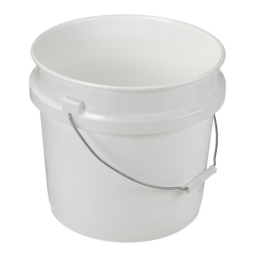 3.5 Gallon Plastic Pail