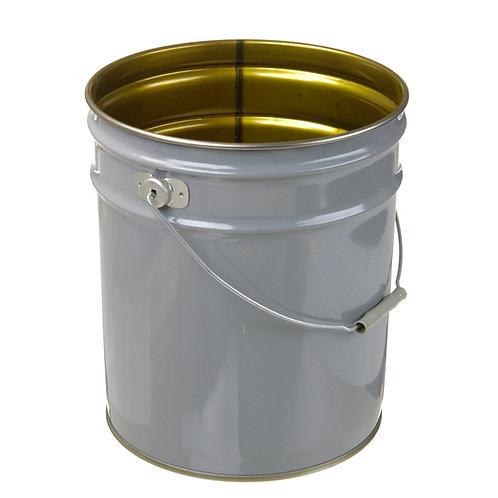 5 gallon- Grey Exterior/100% Phenolic Interior
