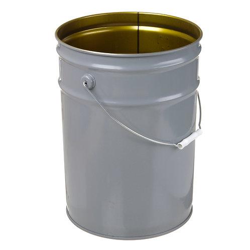 6 gallon- Grey Exterior/100% Phenolic Interior