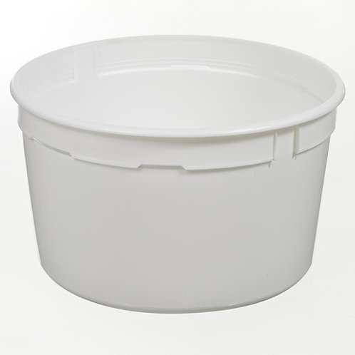 1 Gallon Dairy Tub - Single Seal Dairy Lid