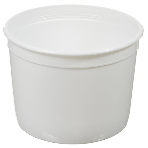 64 oz Dairy Tub - Double Seal Dairy Lid