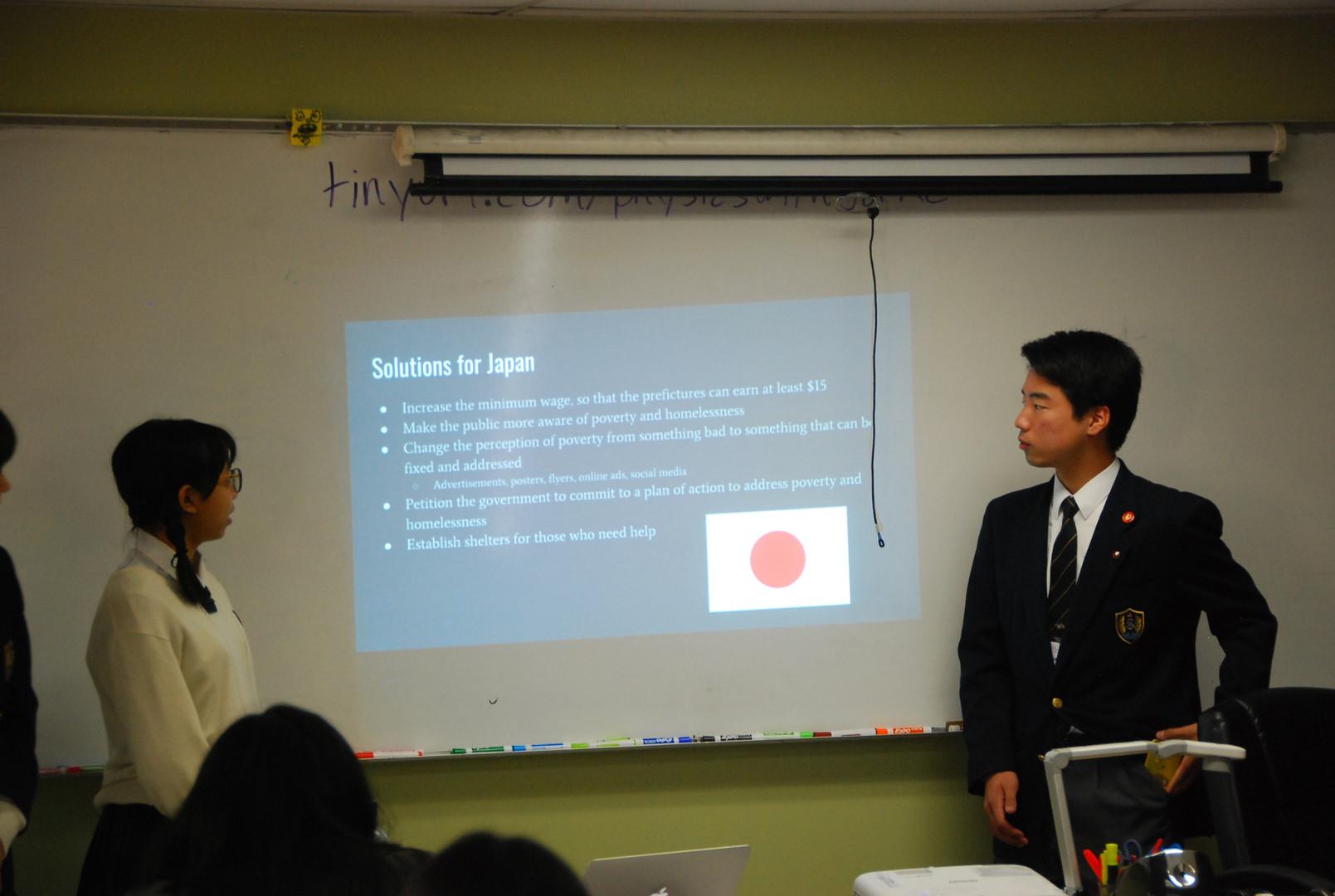 Soka students champion the discussion