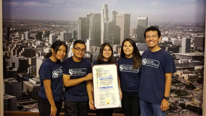 """Nuclear Free Schools speaks on behalf of the  """"Back from the Brink"""" Resolution at LA City Hall"""