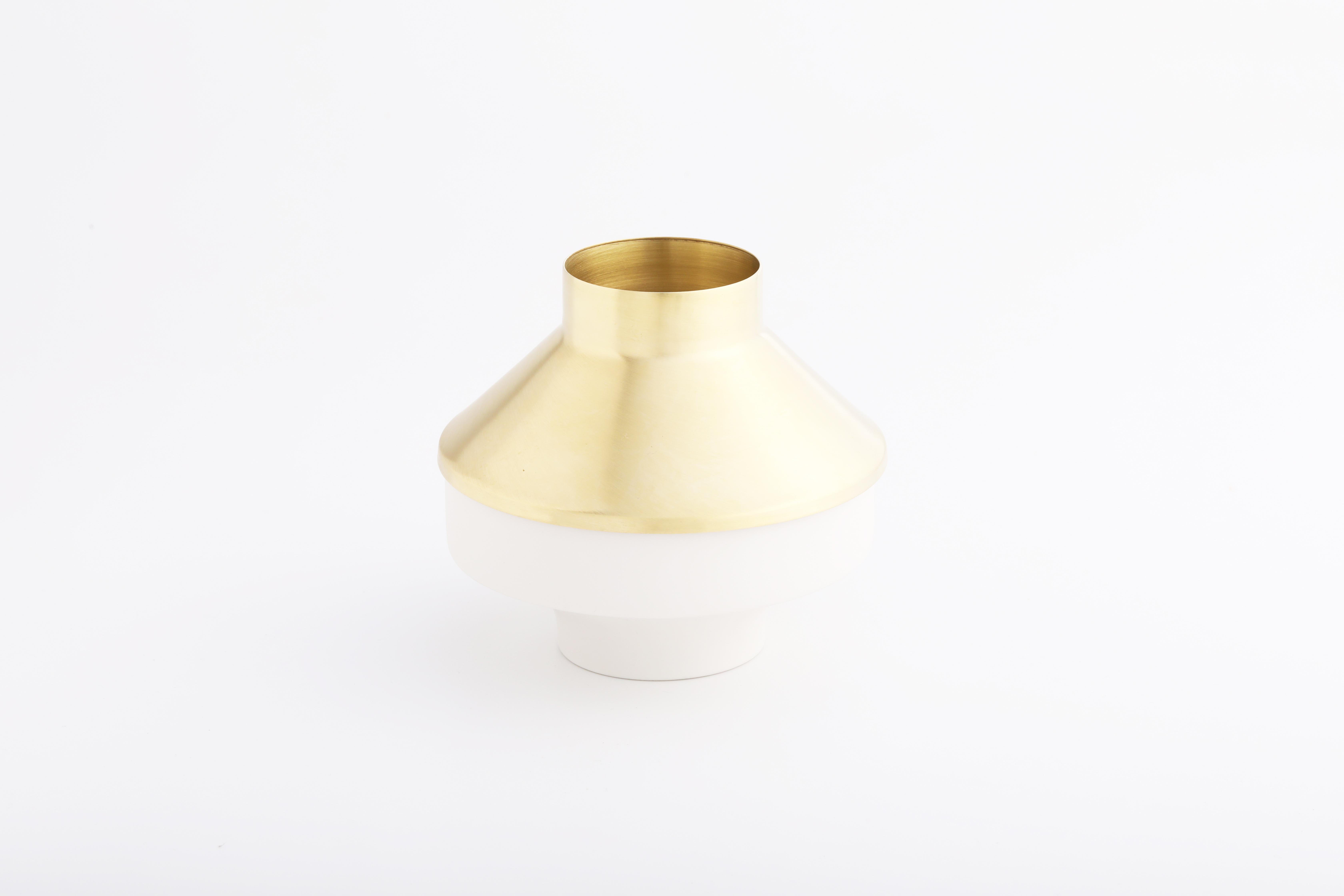 Set 8 (白瓷黃銅款 / White,Brass)