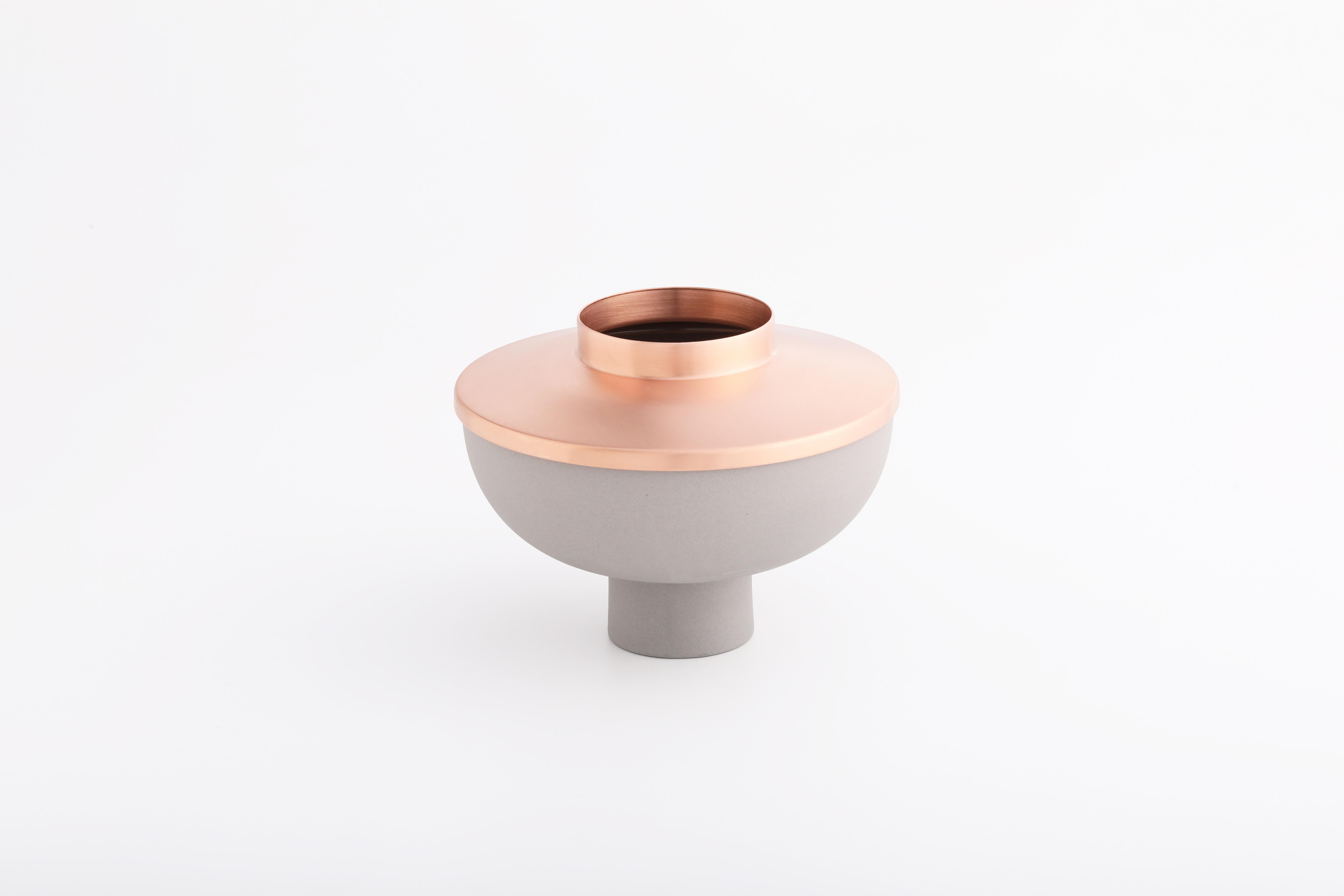 Set 2 (灰瓷紅銅款 / Grey, Copper)