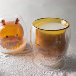 好玻_麋鹿雙層玻璃杯04