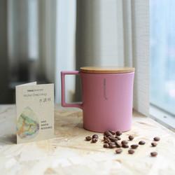 water mug window pink
