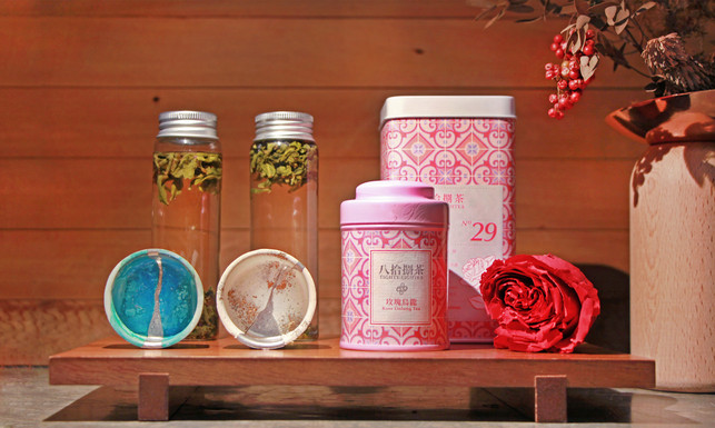 8/9 A Chinese Valentine's Special:Meet the design of Eighty-Eightea and Yenchenyawen in the room!
