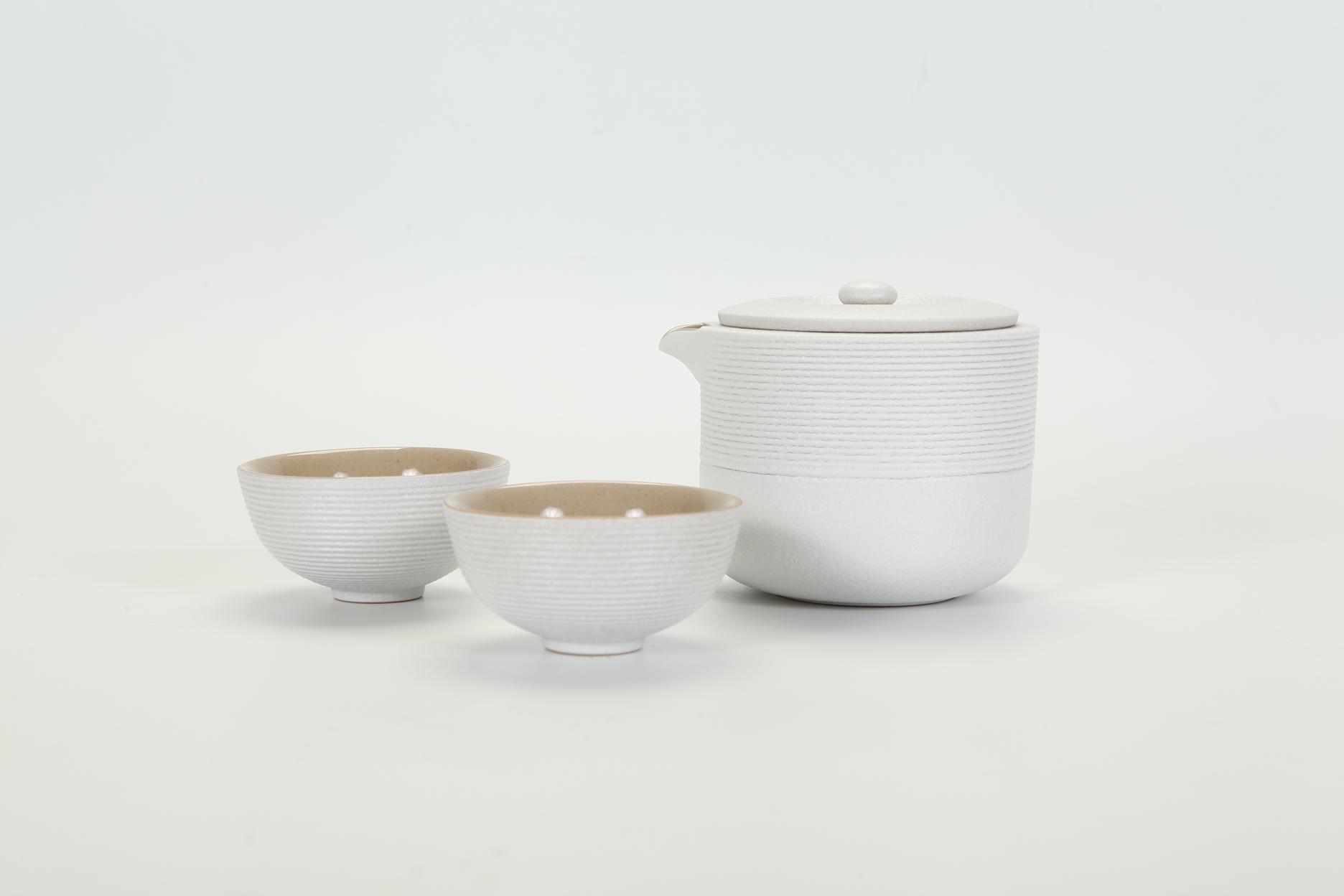 旋紋旅行壺茶組 / Rounded Travalling Teapot