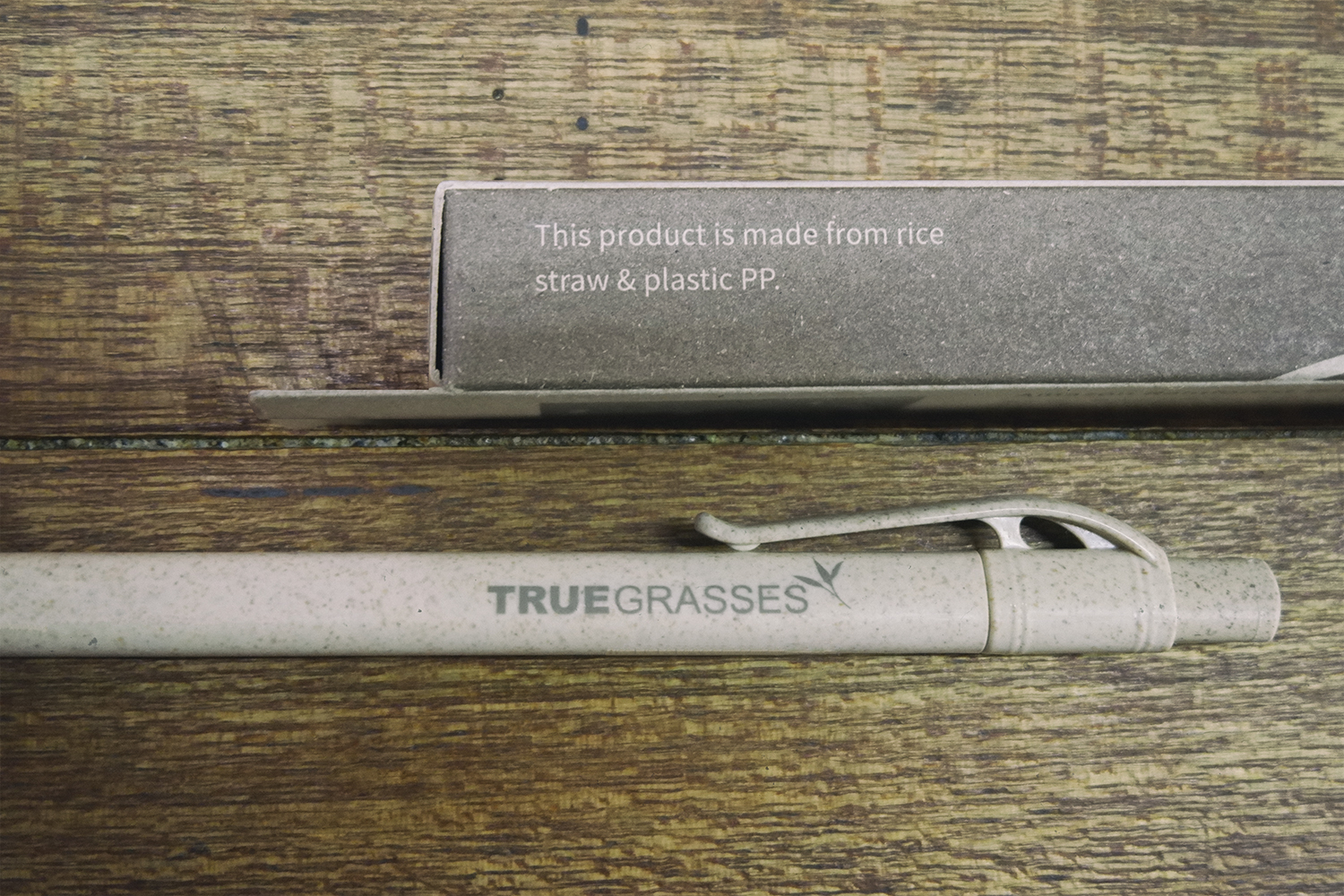 真稻筆/Truegrasses Straw Ball Pen