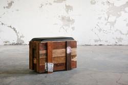 META Green Concept木箱改裝椅 / wooden box