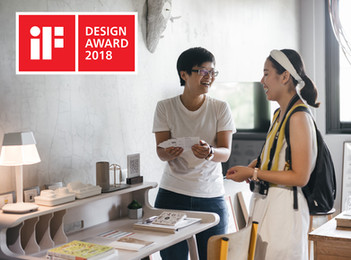 Play Design Hotel won an iF Design Award 2018! |  玩味旅舍榮獲 iF 設計大獎!