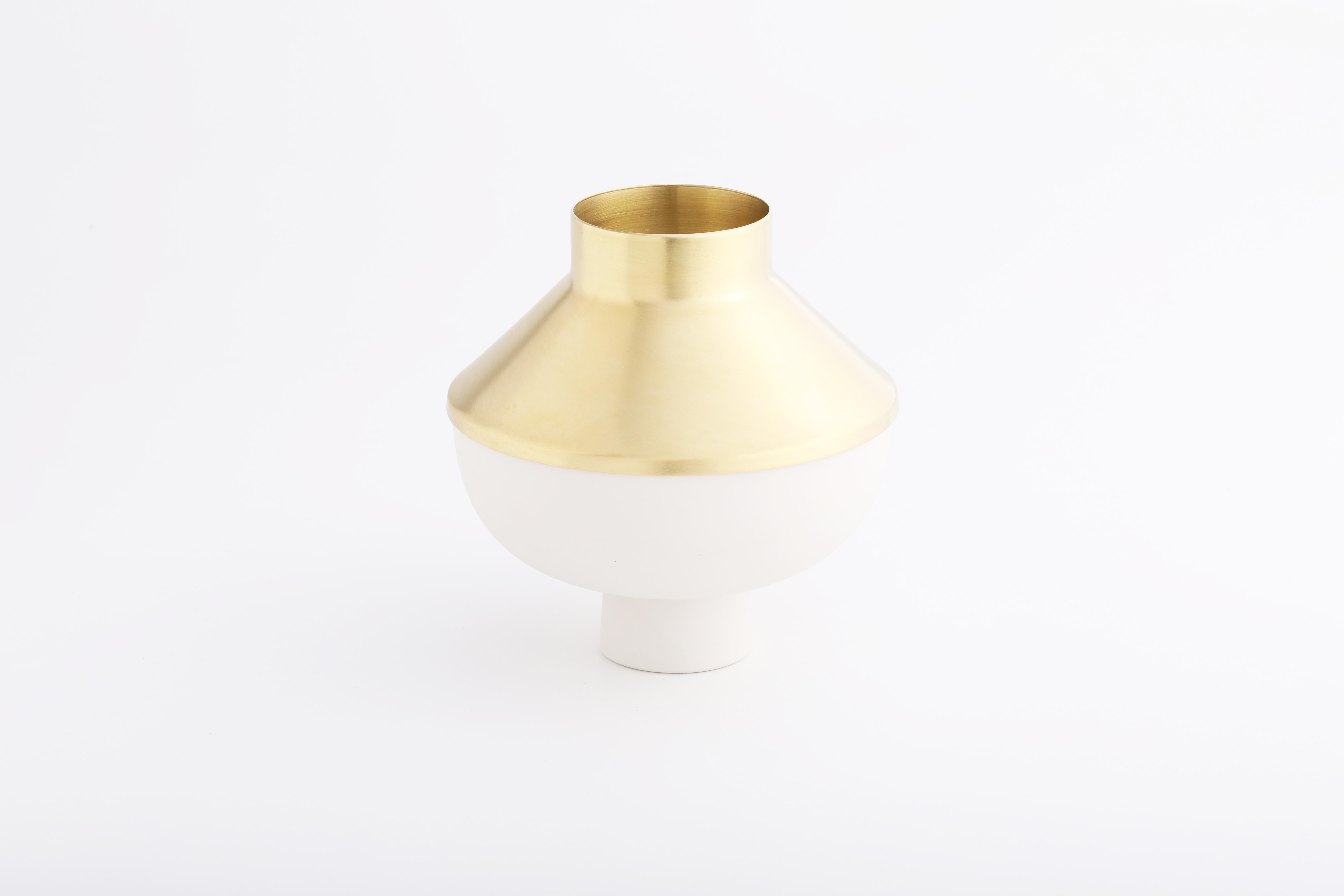 Set 4 (白瓷黃銅款 / White,Brass)