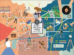 taipei makers map