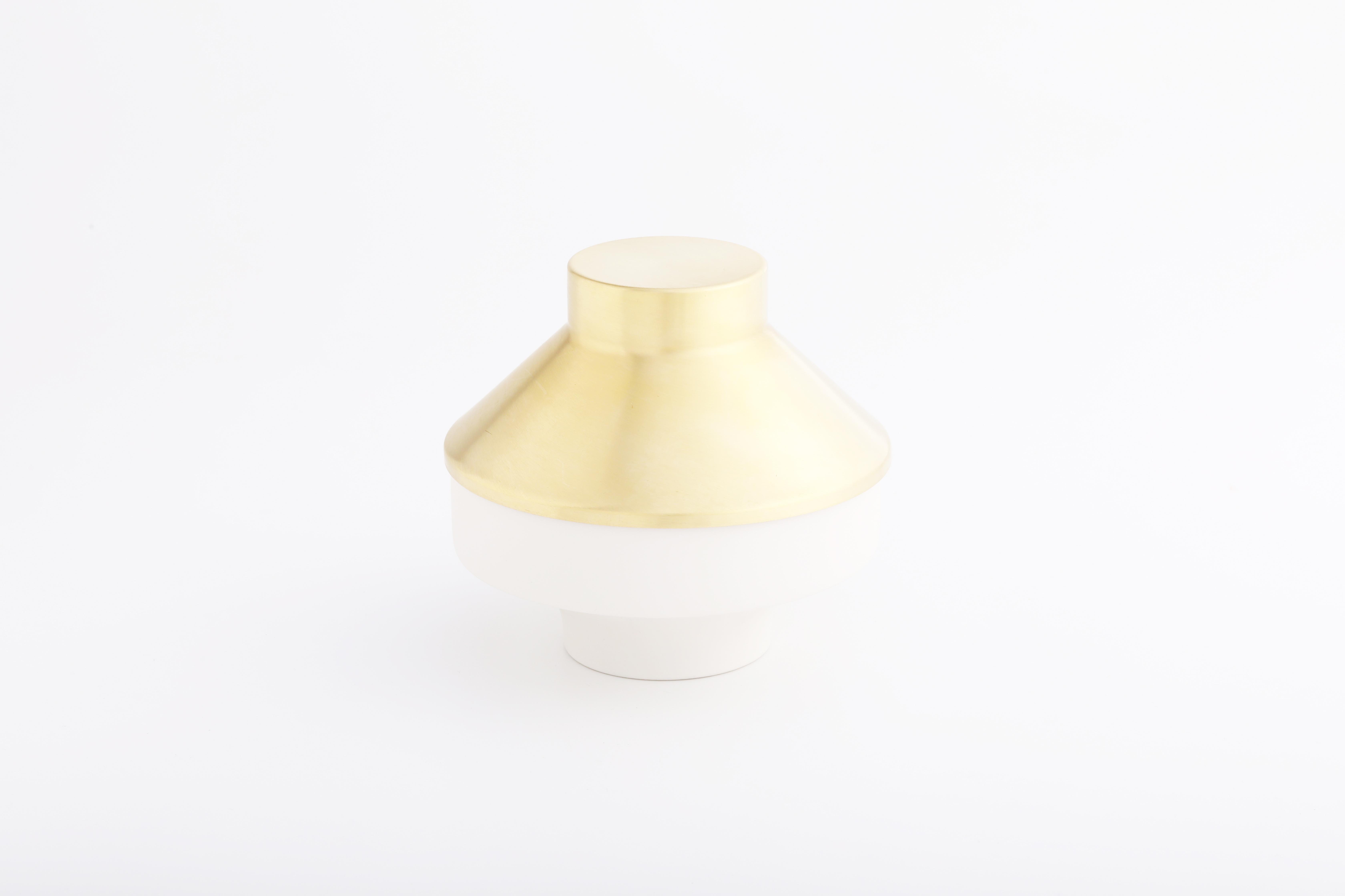 Set 7 (白瓷黃銅款 / White,Brass)
