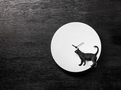 月亮時鐘 – 貓 / Moon X CLOCK-Cat