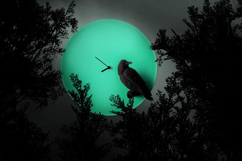 月亮時鐘 –烏鴉 / Moon X CLOCK-Raven