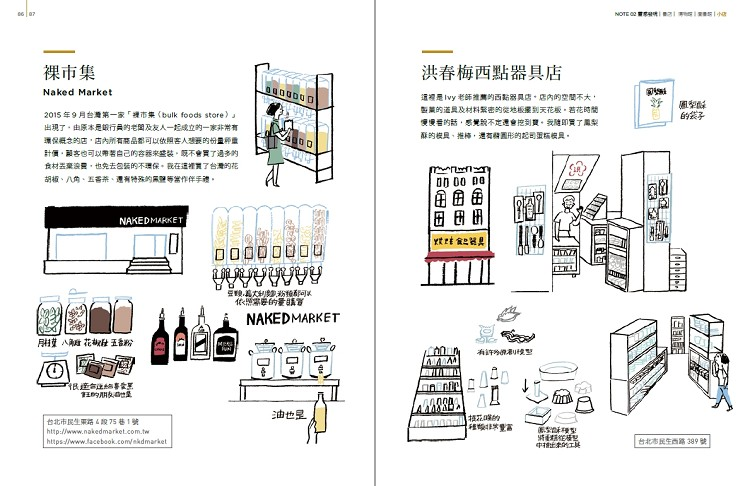 NOTE 02 靈感發現 - 小店