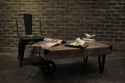 三輪車茶几 / tricycle coffee table