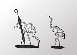 丹頂鶴雨傘架 / Crane