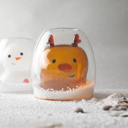 好玻_麋鹿雙層玻璃杯01