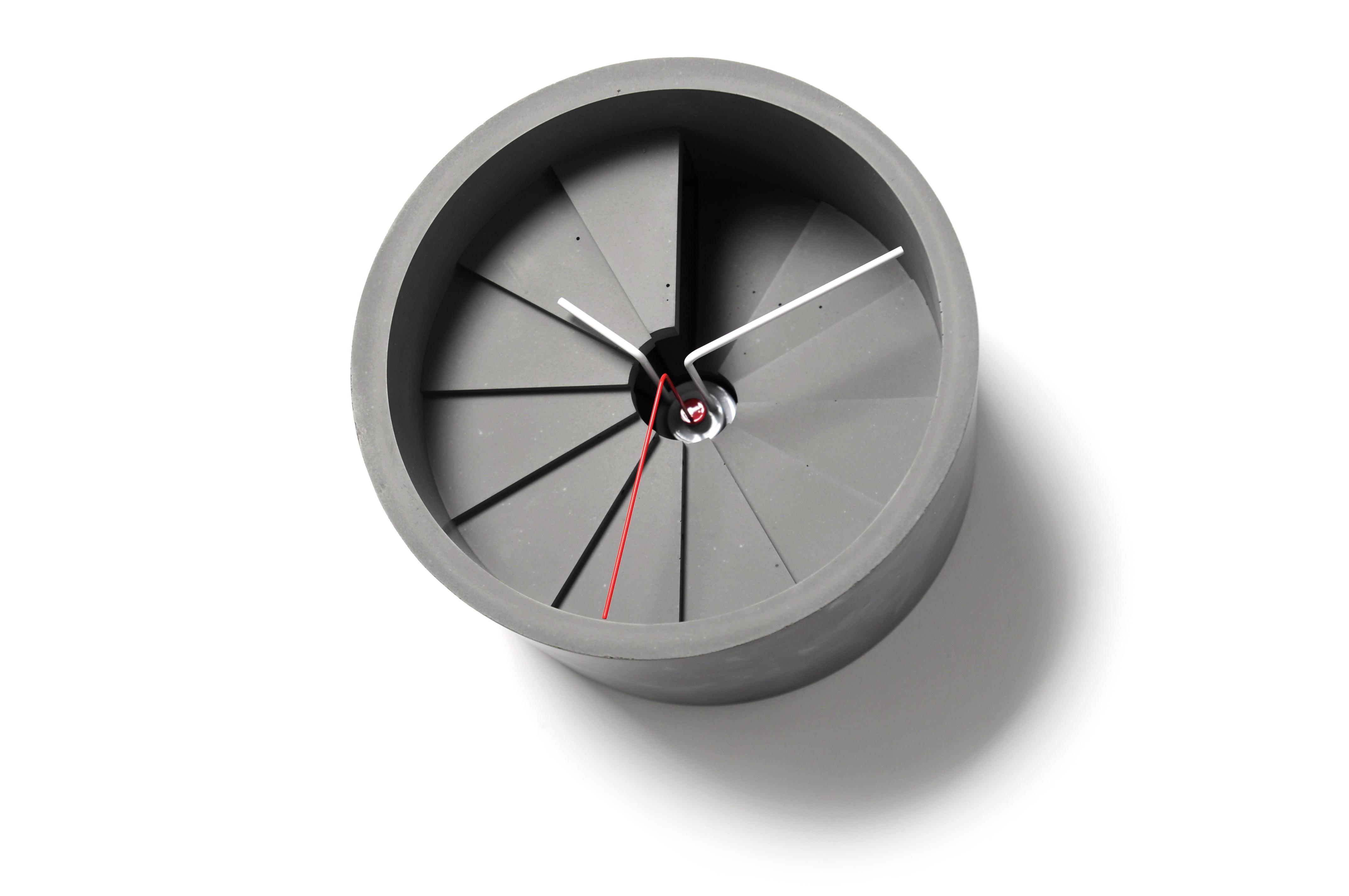 第四度空間水泥時鐘 / 4th Dimension Wall Clock