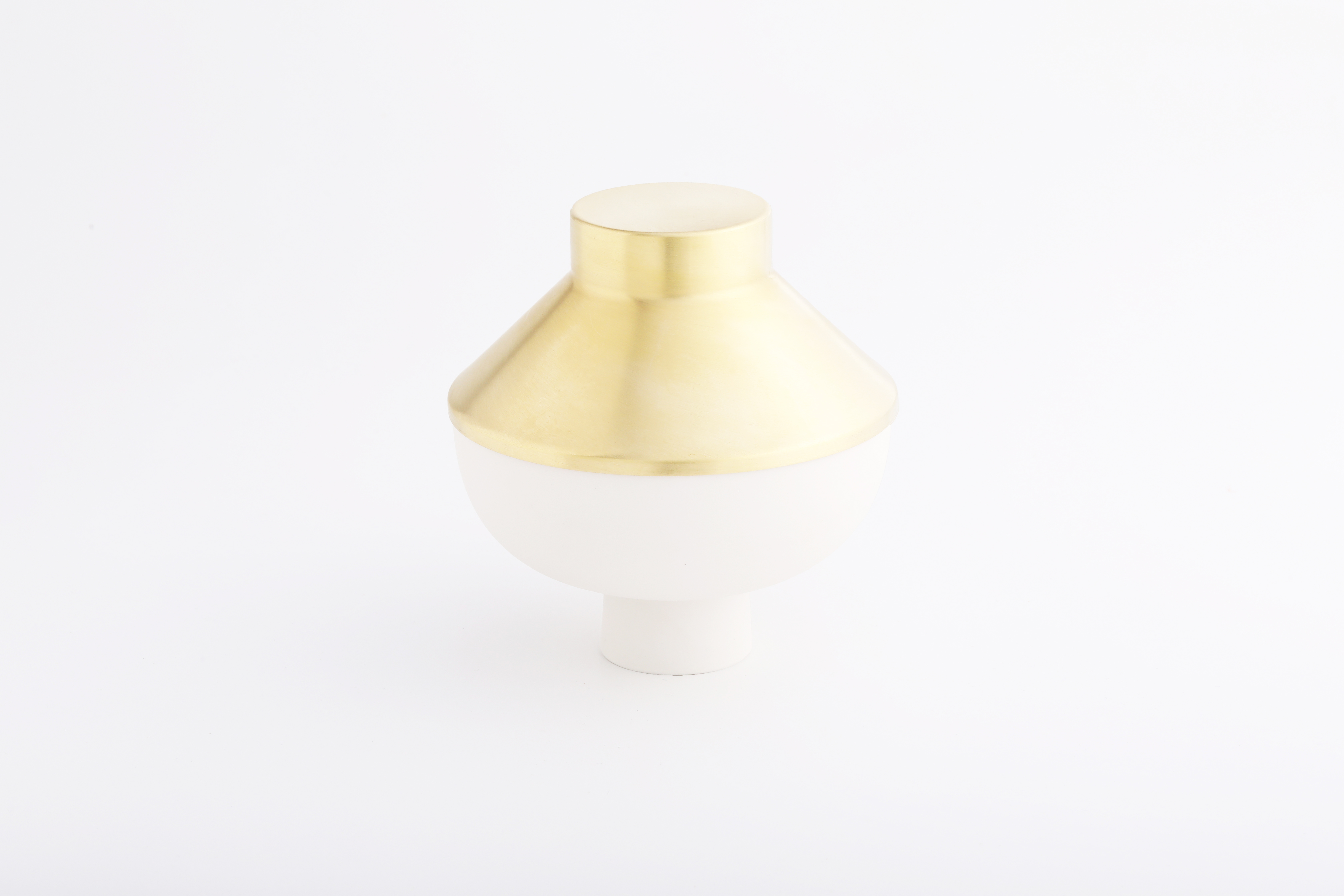 Set 3 (白瓷黃銅款 / White,Brass)