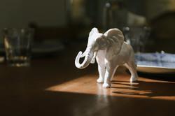 Animal Paperweight - Elephant