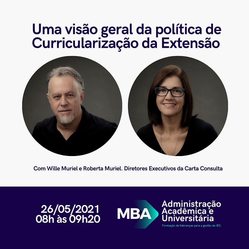 Uma visão geral da política de Curricularização da Extensão