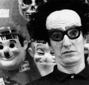 Alan Wild as Joke Shop assistant.