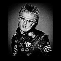 Alan Wild as a punk rocker.