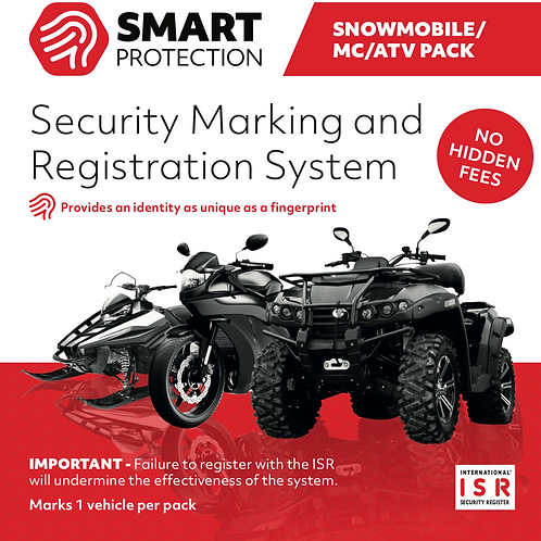 Smart Protection MC/ATV/SNOWMOBILE Pack