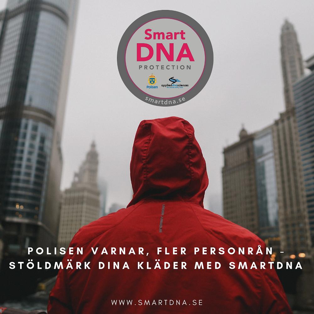 SmartDNA® går att använda på dina kläder också