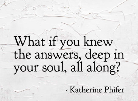 The Answers are Within