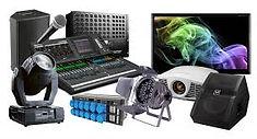 Noleggio service Audio e luci