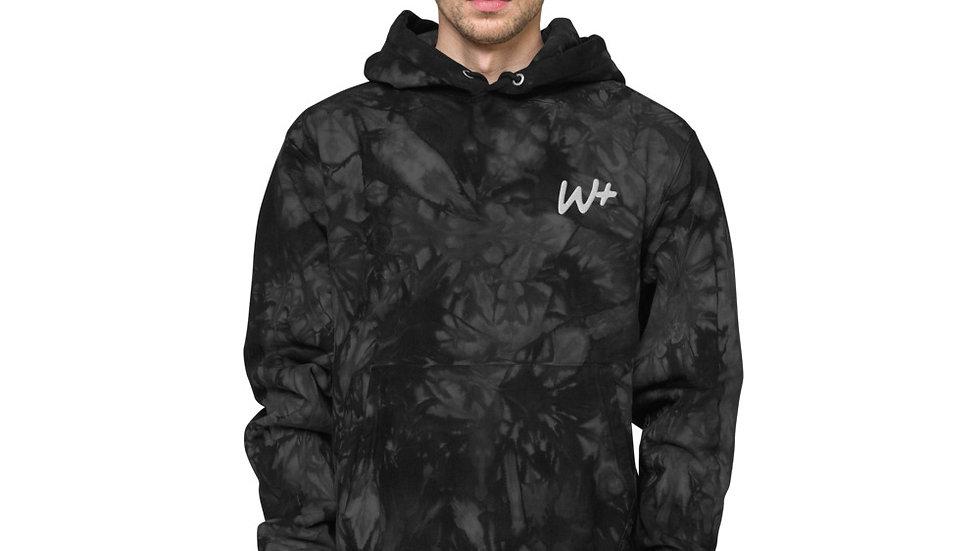 w+ tie-dye hoodie