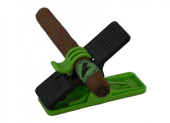 Cigar Minder - Green and Black