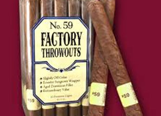 Factory Throwout # 59 Natural