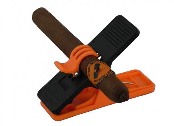 Cigar Minder - Orange and Black