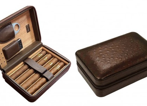 Manhattan Travel Set - Brown