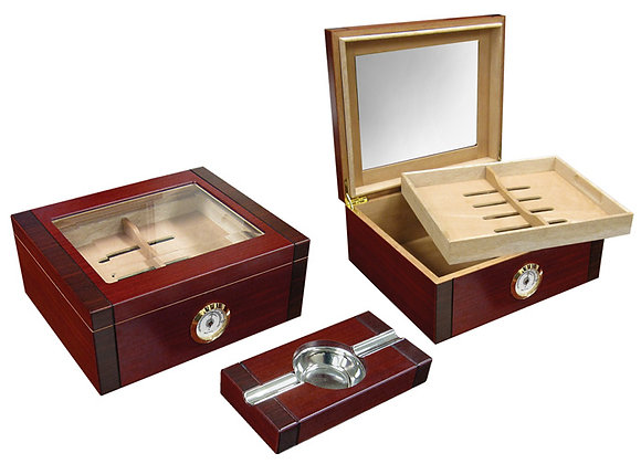 Sovereign 50 count Humidor Set with Ashtray
