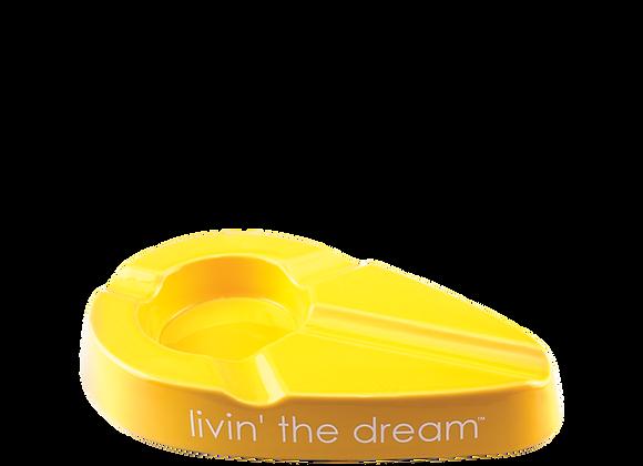 Xikar - Livin' the Dream Ashtray -yellow