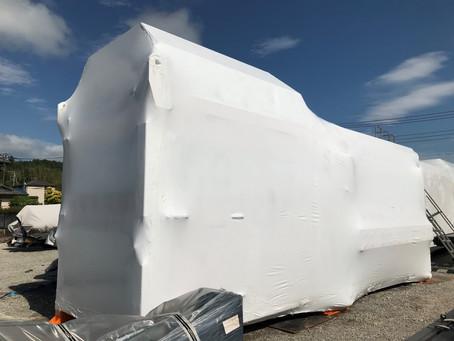千葉県大型機械梱包