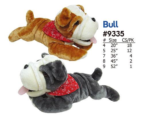 Bull the Bulldog Stuffed Animal Wholesale 2 Colors Assorted | Calplush Crane