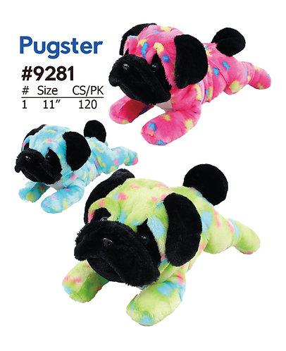 Pugster 3 Style Pug Dog Plush for Crane & Carnival | Calplush