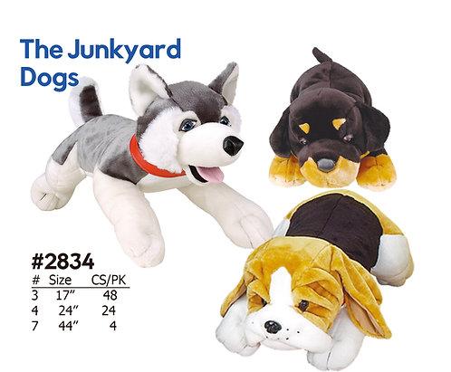 The Junkyard Dogs - 3 Dog Styles Husky, Rottweiler, Beagle
